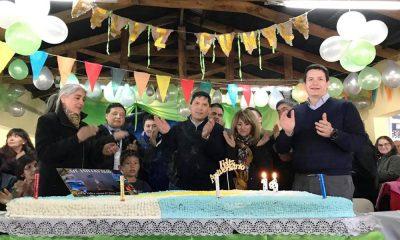 Atilio Viglione celebró este lunes su aniversario