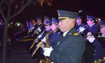 La Banda de Música de la Policía celebró su aniversario