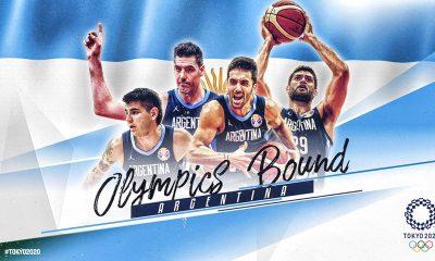 Argentina sacó boleto a los Juegos Olímpicos