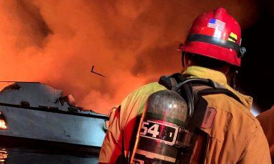 Incendio barco de buceo California