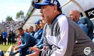 Maradona debutó en Gimnasia