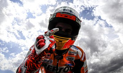 Márquez quedó en las puertas de su sexto título