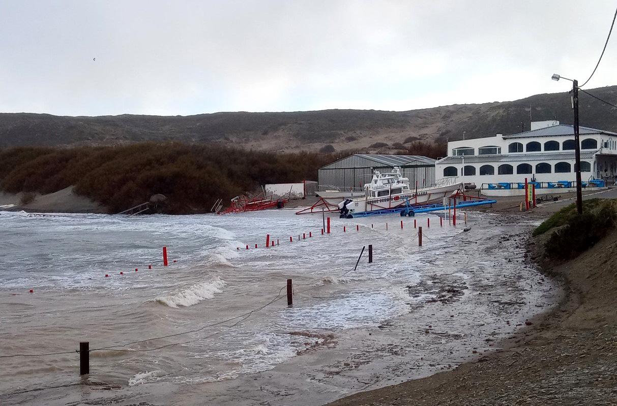 Marejada costa Chubut
