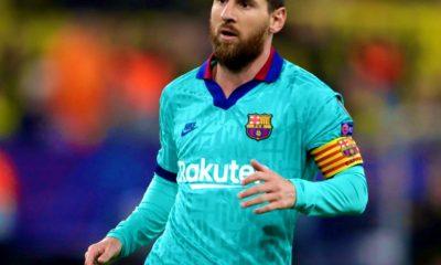 Messi sumó sus primeros minutos