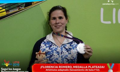 Florencia Romero plata y bronce Lima 2019