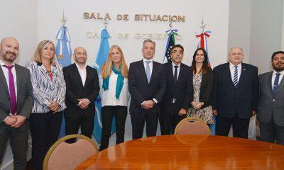 Arcioni recibió a representantes del Poder Judicial y explicó la situación de Chubut