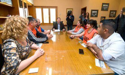 Representantes del SiSaP se reunieron con el Intendente de Trelew
