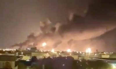 Drones atacaron dos instalaciones petroleras de Arabia Saudita