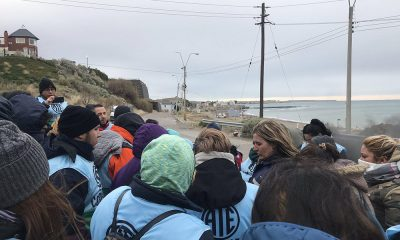 Auxiliares bloquearon acceso a playa tanques y este martes se reunirán con el Gobernador