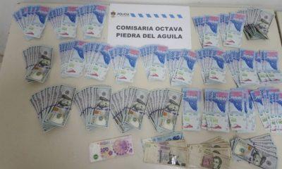 Lo detuvieron a bordo de un vehículo robado, con dinero falso y con cocaína