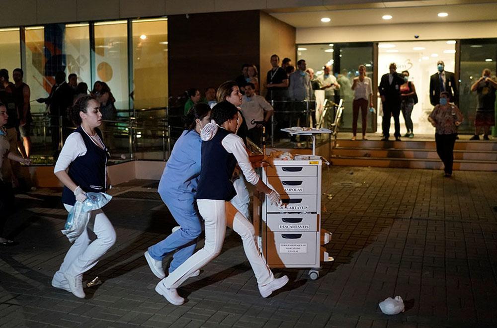 Once personas murieron en incendio de hospital en Brasil