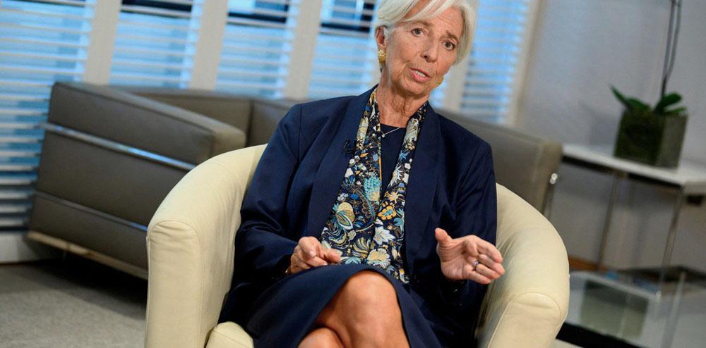 """""""Sin el FMI, la Argentina estaría peor"""", aseguró Lagarde"""