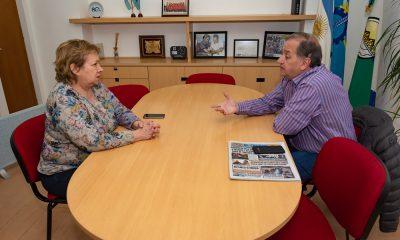 Linares se reunió con Di Filippo y dijo estar dispuesto a colaborar con Arcioni