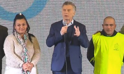 """Macri con """"energía para ir al balotaje"""" e insistió: """"La elección no sucedió"""""""