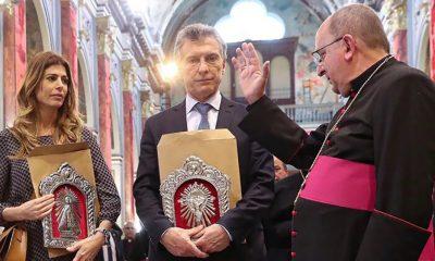 """Macri en Salta, rezó """"por el futuro de todos los argentinos"""""""