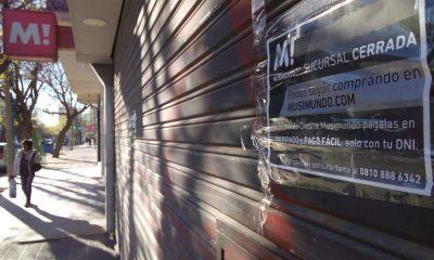 Cerraron otras 3 sucursales de Musimundo en la Patagonia