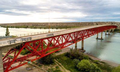 Cortes parciales en el puente sobre el Río Santa Cruz