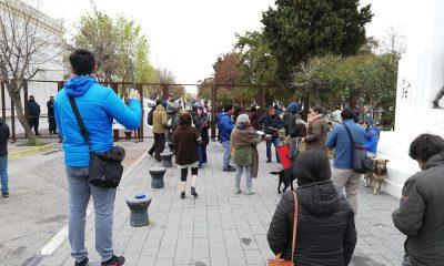 Autoconvocados realizan un ruidazo frente a Casa de Gobierno