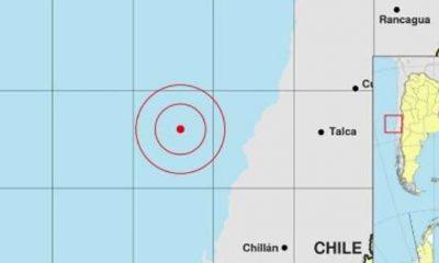 Fuertes sismo en Chile se sintió en Mendoza