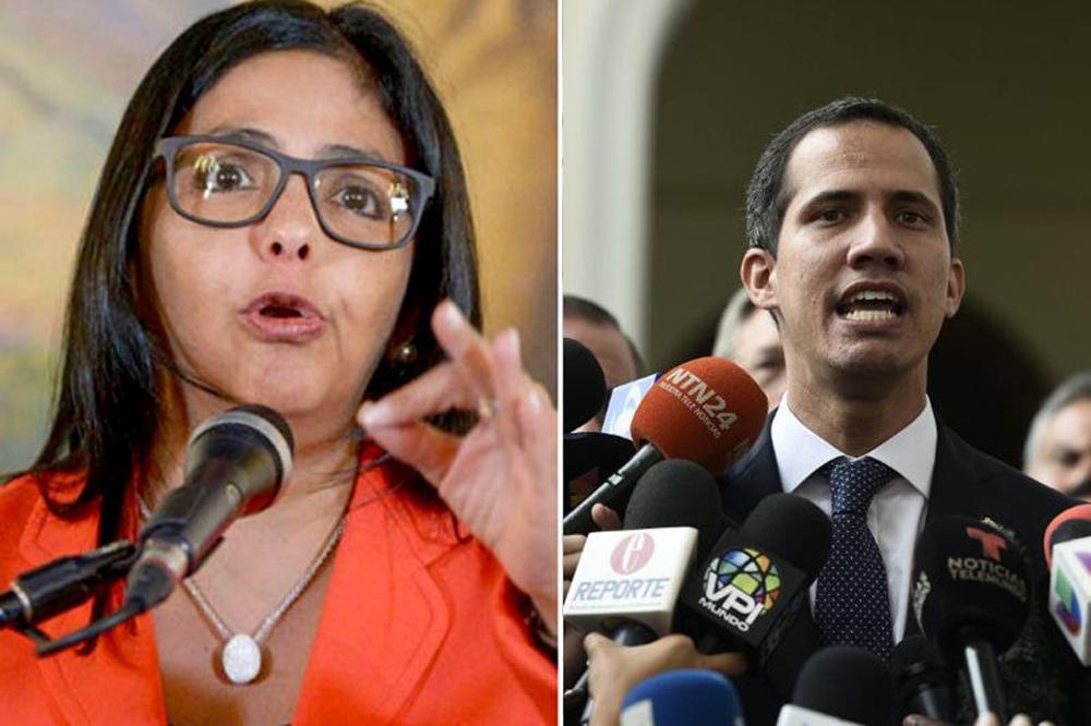 """La fiscalía de Venezuela investiga a Guaidó por """"traición a la patria"""""""