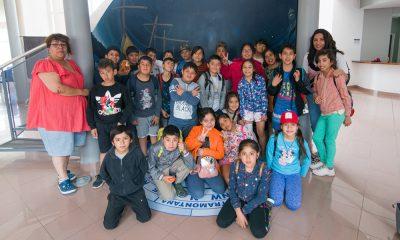 Alumnos de Gobernador Costa visitaron el Centro Astronómico