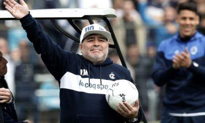 Maradona se va de Gimnasia