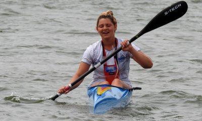 Mica Quiroga campeona sudamericana de canotaje