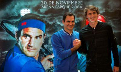 Federer exhibiciones Argentina