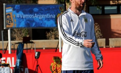 Messi Agüero selección
