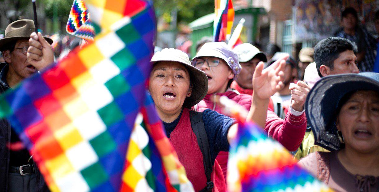 Bolivia llamados al diálogo