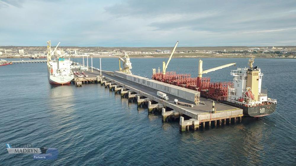 Adjudicaron la obra del sitio 2 del Muelle Storni de Madryn