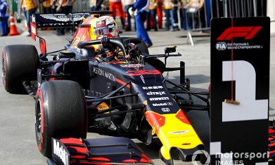 Verstappen pole Interlagos