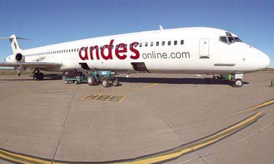 Se normalizan los vuelos de Andes y gestionan más frecuencias