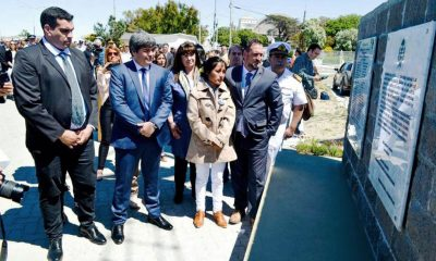 Comodoro: Se realizó un homenaje a los tripulantes del ARA San Juan