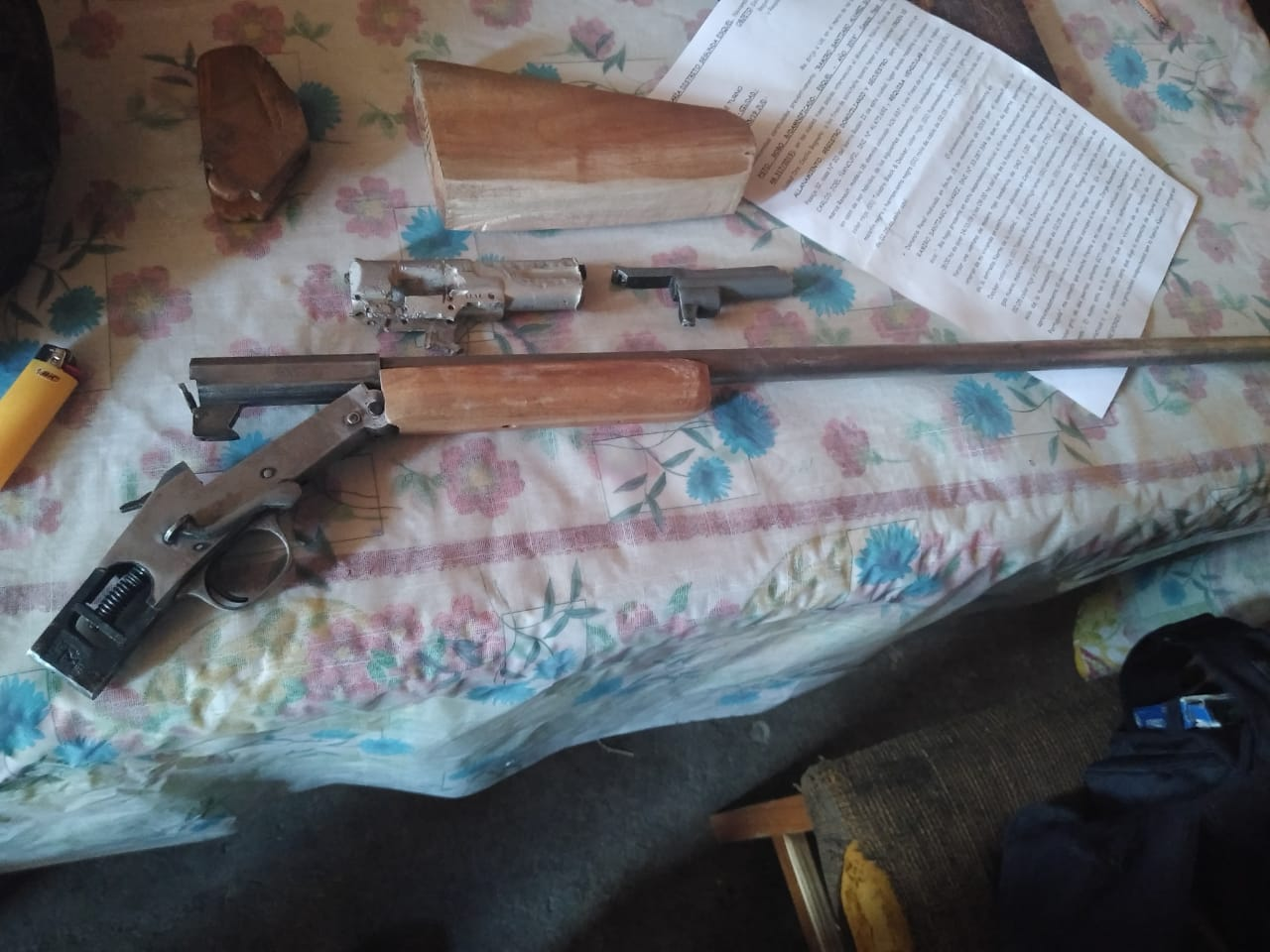 Secuestraron un arma en allanamiento por robo en Esquel
