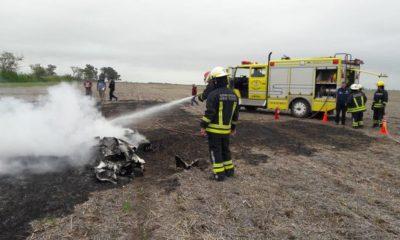 Cayó una avioneta en Santa Fe y dos personas murieron