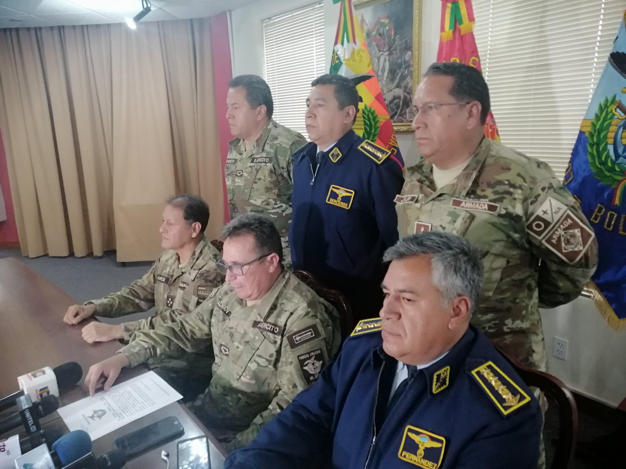 Bolivia: Morales anunció nuevas elecciones y las FFAA le pidieron la renuncia