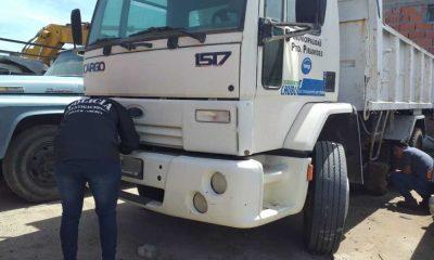 Denunciaron el faltante de un camión oficial de Pirámides y apareció en Trelew
