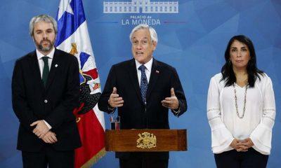 Chile: el Presidente llamó a buscar tres acuerdos para salir de la crisis