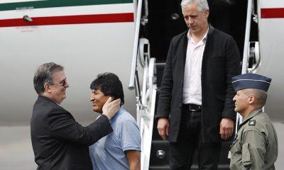 Evo Morales llegó a México para recibir asilo político