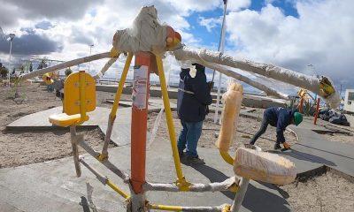 El miércoles se inaugura la Plaza Malvinas en Madryn