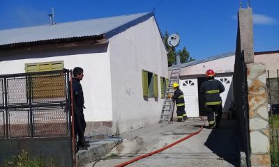 Se incendió una vivienda a causa de un cortocircuito