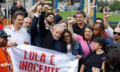 Tras más de 1 año y medio, Lula Da Silva quedó en libertad