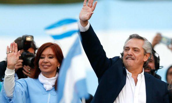 Alberto asume como presidente