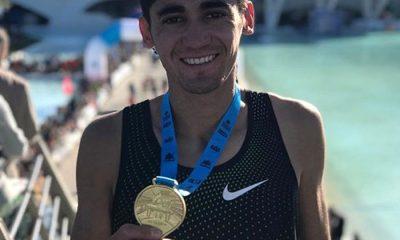 Coco marca olímpica bajo el brazo