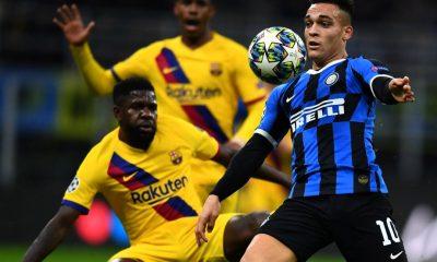 Inter eliminado Champions