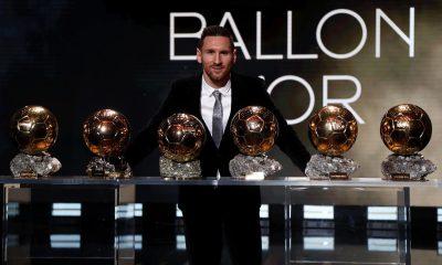 Messi sexto Balón de Oro