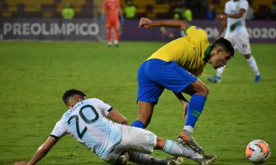 El Sub 23 goleado por Brasil