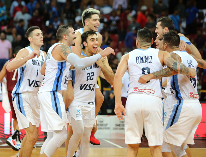 Argentina remontó 22 puntos