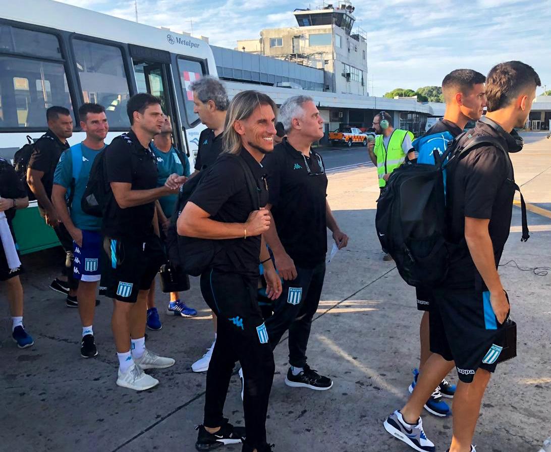 Racing visita a Colón